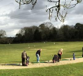 Practice Golf de Nantes l'Ebeaupin